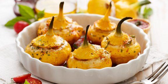 Лучшие блюда из патиссонов. Ешьте сразу или запасайте на зиму