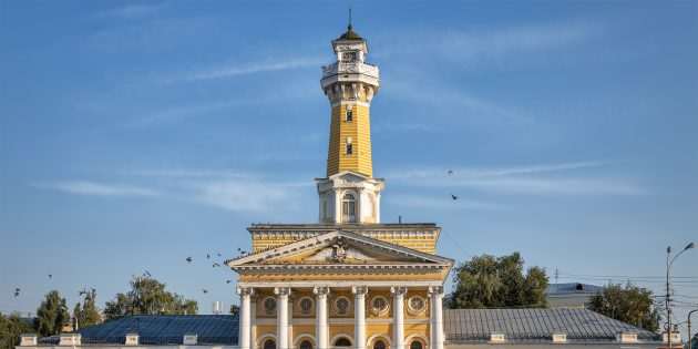 Достопримечательности Костромы: пожарная каланча