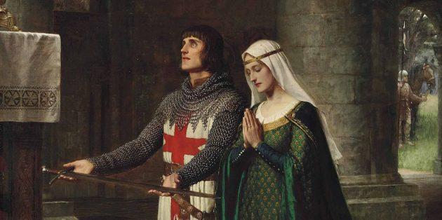 Рыцари Средневековья сражались на турнирах не только ради внимания дам