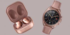 Samsung анонсировала обновлённые TWS-наушники Buds Live и умные часы Galaxy Watch3