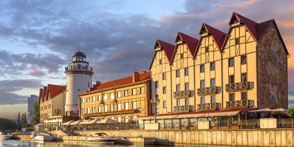 Достопримечательности Калининграда: рыбная деревня