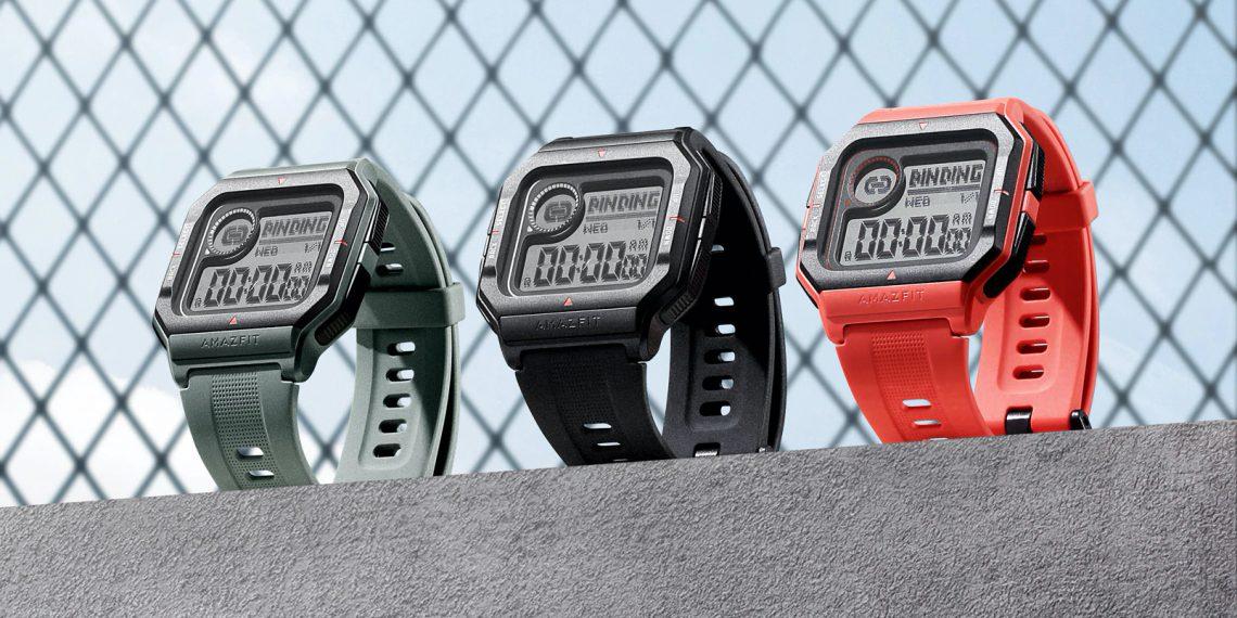 Huami представила ретро-часы Amazfit Neo