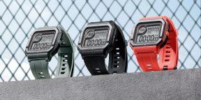 Amazfit Neo — новые смарт-часы с ретро-дизайном и автономностью 28 дней
