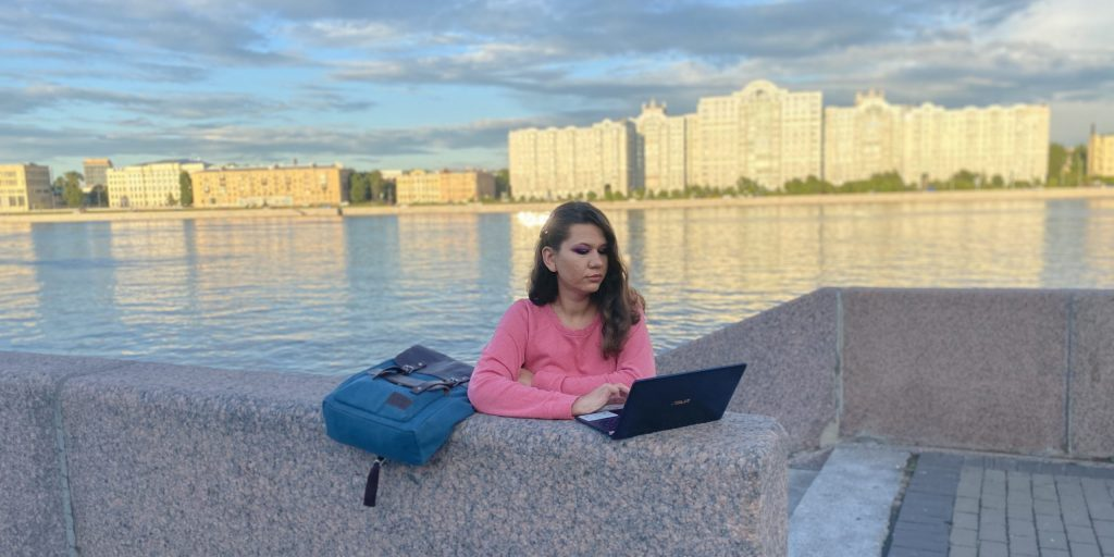 Мобильный интернет МегаФон: работа на улице