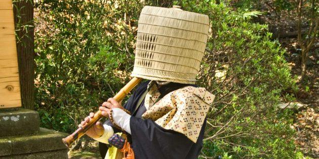 Ниндзя любили одежду монахов комусо