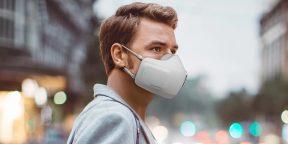 LG анонсировала маску PuriCare со встроенными HEPA-фильтрами