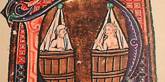 То, что рыцари Средневековья не мылись и испражнялись прямо в доспехе, не совсем правда