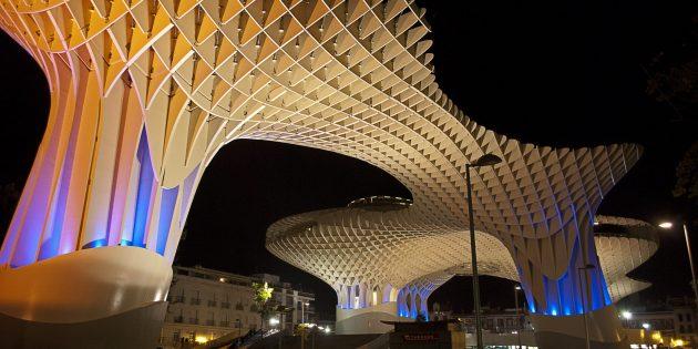 необычная современная архитектура: «Метрополь Парасоль»