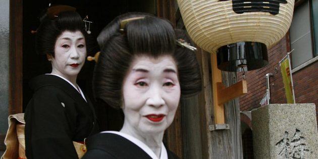 Не все гейши были красивы и юны