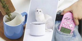 Находки AliExpress: Bluetooth-адаптер, дальномер, поилка для кошки