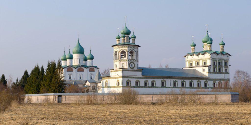 Достопримечательности Великого Новгорода: Николо-Вяжищский монастырь