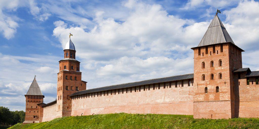 Достопримечательности Великого Новгорода: кремль