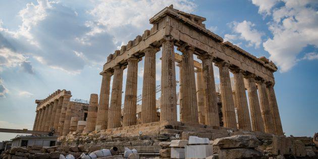 памятники архитектуры: Парфенон
