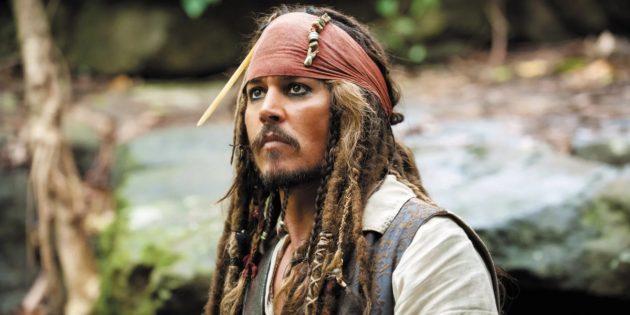 """Фильмы с Джонни Деппом: «Пираты Карибского моря: Проклятие Проклятие """"Чёрной жемчужины""""»"""
