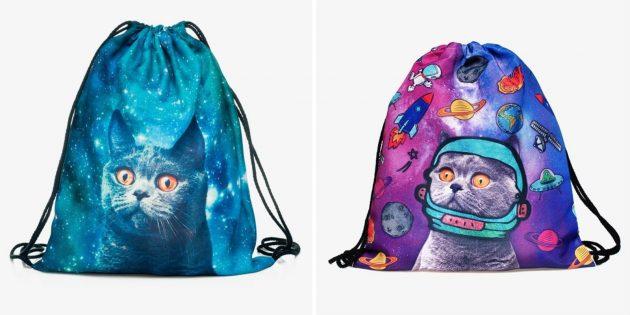Что купить для школы: рюкзак для второй обуви