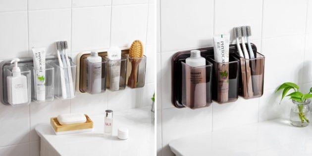 Настенные органайзеры для ванной