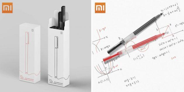 Что купить для школы: набор гелевых ручек Xiaomi