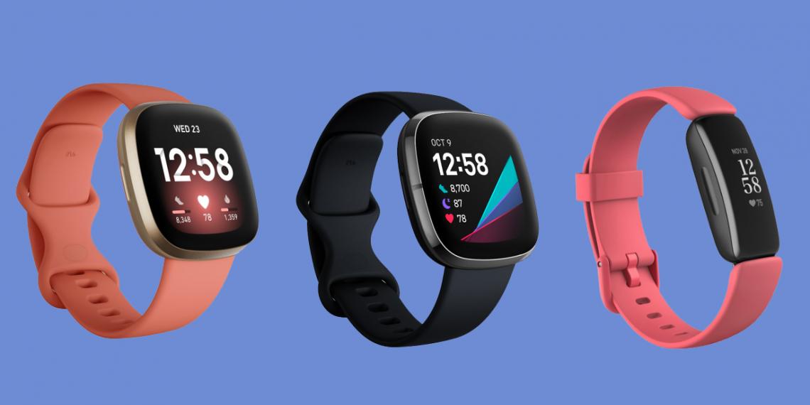 Fitbit представила Inspire 2, Versa 3 и Sense