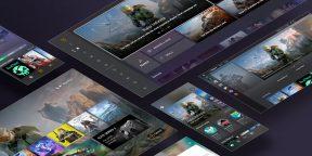 Microsoft показала новый интерфейс XboxSeriesX