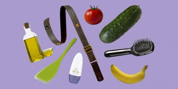 Зубная щётка, силиконовая лопатка и овощи: чем не стоит заменять секс-игрушки