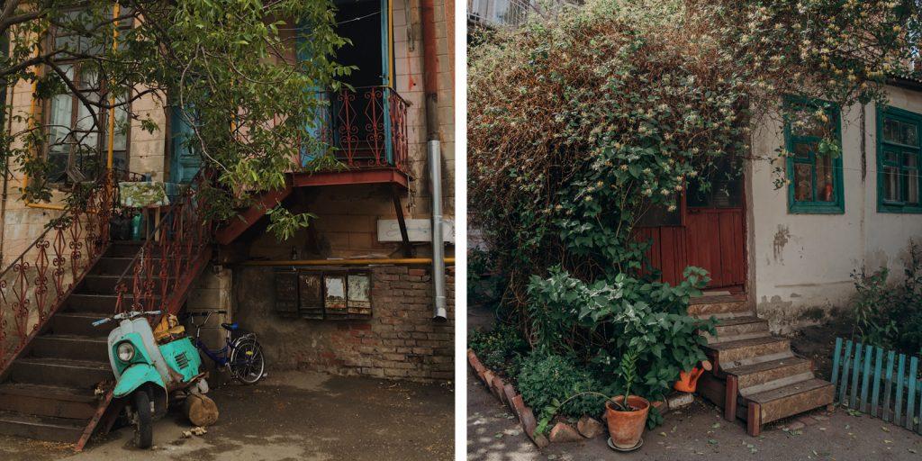 Городские дворы Краснодара