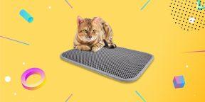 Надо брать: ЭВА-коврик для кошачьего туалета, который избавит дом от мусора