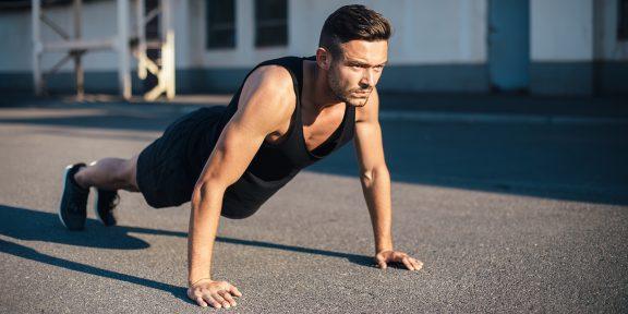 Тренировка дня: лёгкий и приятный комплекс на всё тело