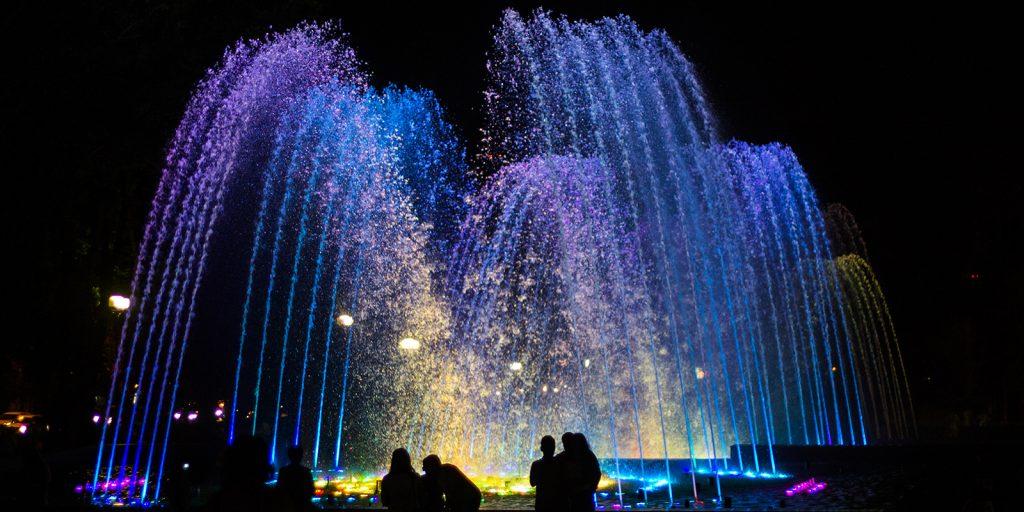 Достопримечательности Краснодара: поющий фонтан