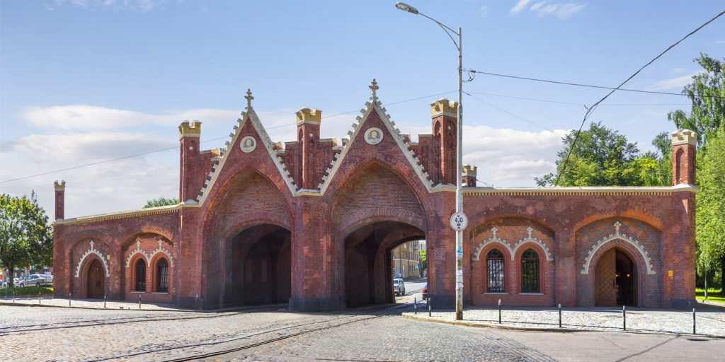 Городские ворота Калининграда