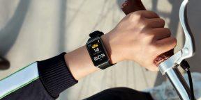 Huawei представила смарт-часы Watch Fit с необычным дизайном