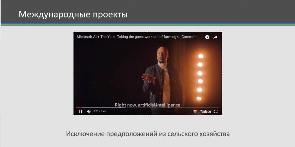 Онлайн-видео в Microsoft Office