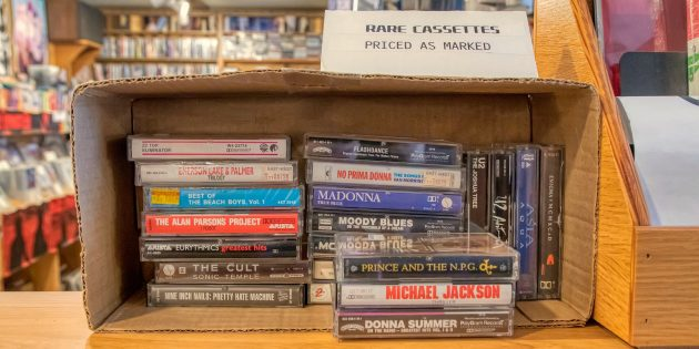 Где сейчас можно купить аудиокассеты