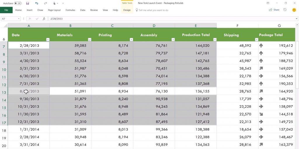 Редактирование таблиц в Microsoft Office
