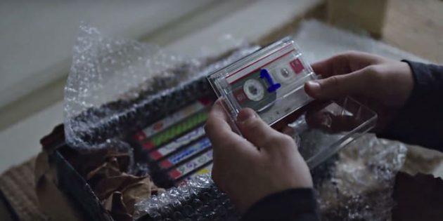 Аудиокассеты: кадр из сериала Netflix «13причин почему»