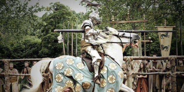 Рыцарские турниры — это не исключительно конные поединки