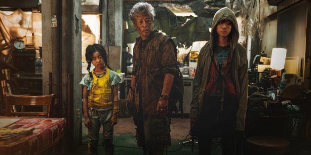 Кадр из фильма «Поезд в Пусан — 2: Полуостров», 2020 год