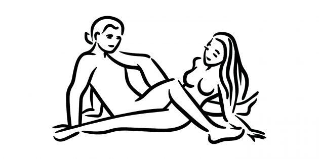 Поза «Ножницы» в сексе