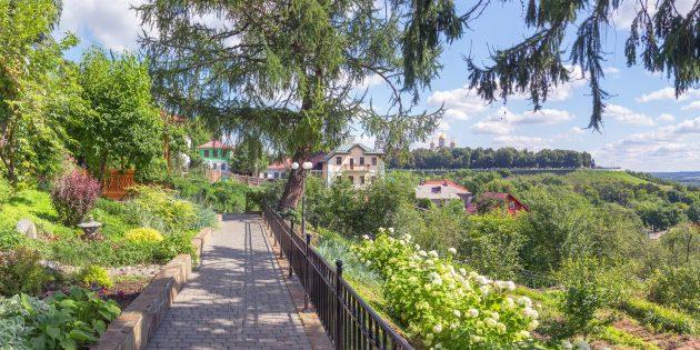 Достопримечательности Владимира: Патриарший сад