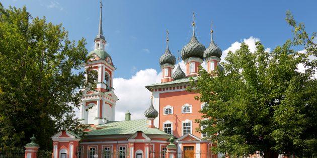 Достопримечательности Костромы: церковь Воскресения на Дебре