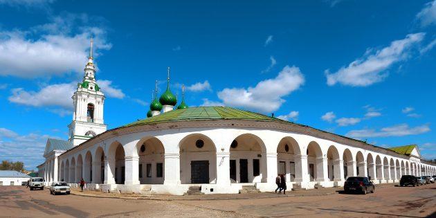Куда сходить в Костроме: костромские торговые ряды