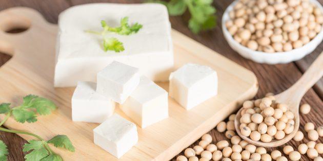 Польза сыра тофу
