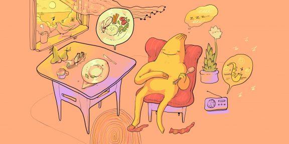 Почему после еды хочется спать и что с этим делать