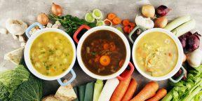 Простая задачка про супы, в решении которой легко запутаться