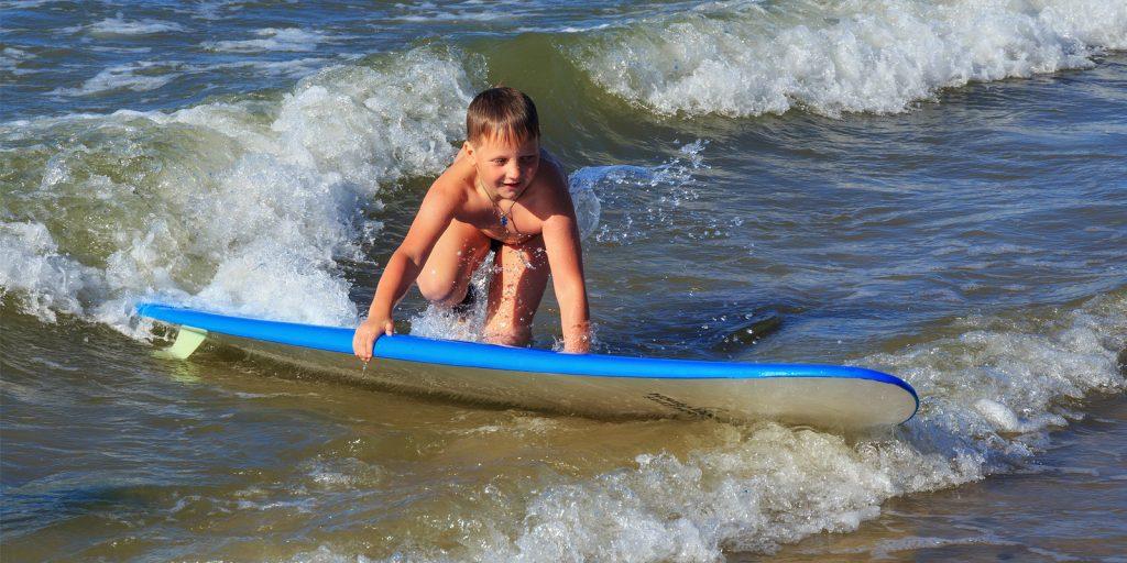 Достопримечательности Калининграда: споты для сёрфинга