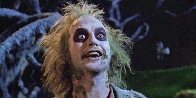 Майкл Китон в комедийном ужастике «Битлджус»