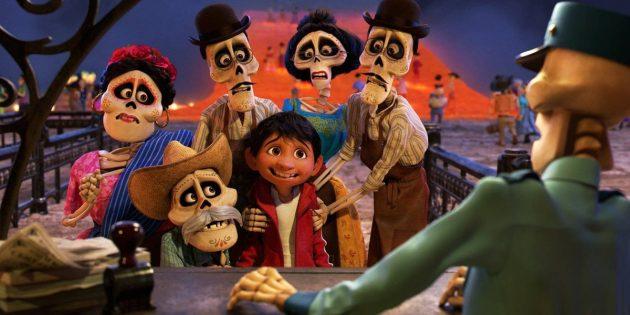 мультфильмы для всей семьи: «Тайна Коко»