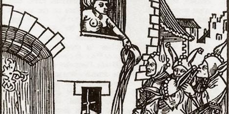 Заблуждения о Средневековье: содержимое ночных горшков в то время выплёскивали прямо из окон