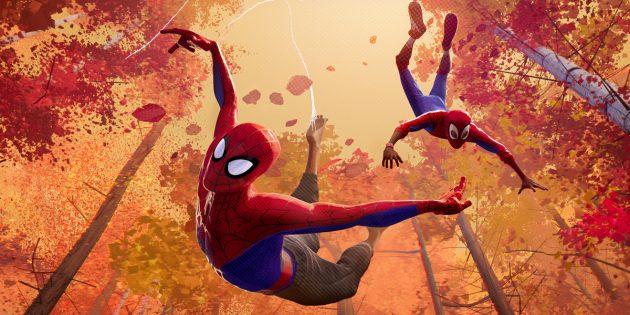 мультфильмы для всей семьи: «Человек-паук: Через вселенные»