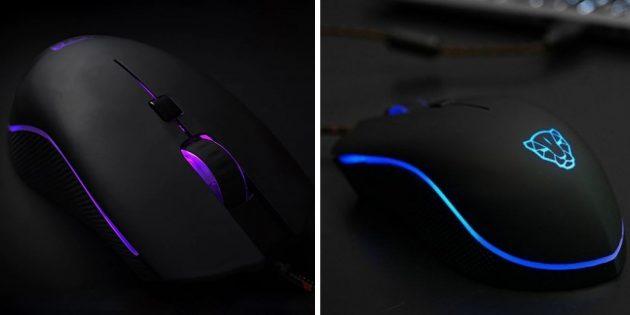 Лучшие геймерские мыши: Motospeed V40