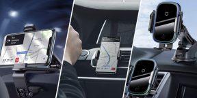 10 универсальных автомобильных держателей для смартфонов